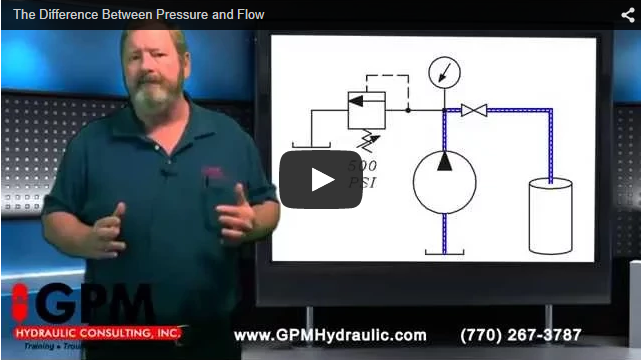 THE DIFFERENCE BETWEEN PRESSURE & FLOW