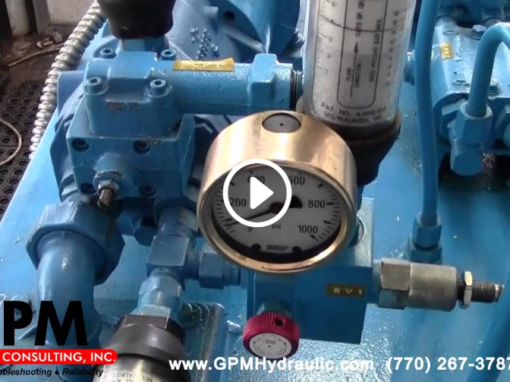 Checking the Hydraulic Pump