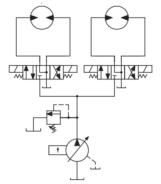 three position valves - float center