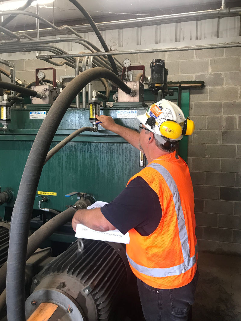 Hydraulic Systems Condition Monitoring Training Gpm Basic System Diagram Troubleshooting Tips For